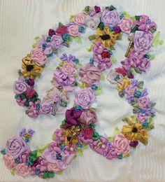 love silk ribbon embroidery!