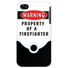 Property of a Firefighter iPhone
