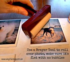DIY Tile Photo Coasters ~ Mothers Day Gift Idea