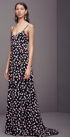 #Altuzarra #PreFall Look 18 - 'Rosalind' Dress in Black Polka Dot. Shop now at @barneysny