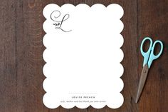 Byline Personalized Stationery by Sara Hicks Malone at minted.com