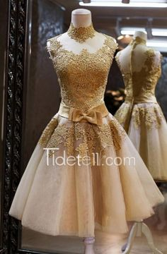A wide selection of casual dresses,cute dresses and red dresses are at a discount and caradress recommends elegant gold lace homecoming dresses 2017 high neck sleeveless with bow women cocktail party gowns real photos short prom gown greatly. Short Graduation Dresses, Lace Homecoming Dresses, Dresses Short, Evening Dresses, Casual Dresses, Dress Prom, Dress Lace, Dress Formal, Dresses Dresses