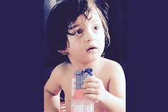 Shah Rukh-AbRam bond in the bathroom