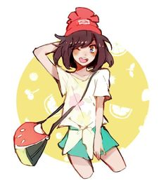 Pokemon Problems (lurumi: i like her outfit. Pokemon Mew, Pokemon Waifu, Pokemon Fan Art, Cute Pokemon, Pokemon Game Characters, Pokemon People, Pokemon Special, Female Protagonist, Adventure Time Anime