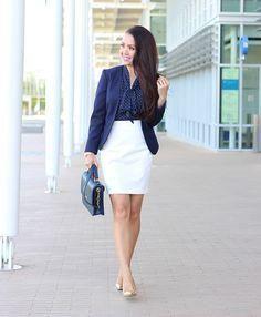 Si quieres lucir un estilo femenino pero adecuado para la oficina, ¡no te pierdas estas ideas!