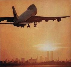 1974 TWA B747 departing JFK advert image