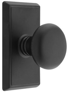 Providence Door Set With Round Brass Knobs Privacy In Matte Black. Doorsets. Emtek http://www.amazon.com/dp/B005TYPU3E/ref=cm_sw_r_pi_dp_l4Puvb0JJ9GAF