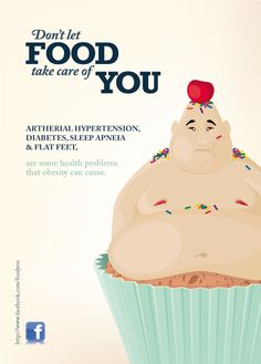 Obesity Campaign on Pantone Canvas Gallery Social Campaign, Campaign Posters, Don't Let, Let It Be, Student Planner Printable, Clever Advertising, World Health Day, Childhood Obesity, Awareness Campaign