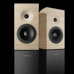Hifi News - Amadeus Releases New Philharmonia Mini Passive Loudspeakers costing Monitor Speakers, Bookshelf Speakers, Built In Speakers, Hifi Audio, Wireless Speakers, Audio Design, Speaker Design, Audio Box, Passive Speaker