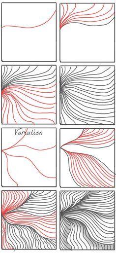Afbeeldingsresultaat voor zentangle randen