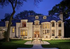 A beautiful French Provincial home