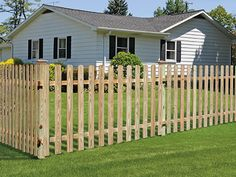 Residential Wood Fence Panels Amp Wood Fencing Installation