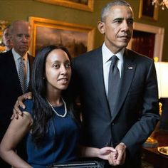 """the-perks-of-being-black: """" """"Eritrean-American Haben Girma, who is the first deaf-blind graduate at Harvard Law School's story is a true inspiration. Girma's extraordinary story highlights her courage. Blinde, Mr President, Harvard Law, Barack And Michelle, Disabled People, Thing 1, Schools First, Law School, Barack Obama"""