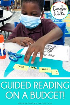 Guided reading on a budget is tough! Some of the materials can get downright expensive! I want to share a few ways YOU can do guided reading and not break the bank! Teaching Reading Strategies, Comprehension Strategies, Teaching Resources, Kindergarten Activities, Writing Activities, Small Group Reading, Root Words, Upper Elementary, Guided Reading