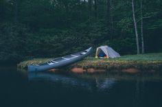 Canoe camping, gear list, outdoor