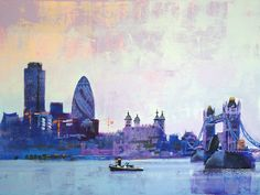 TOWER OF LONDON by Colin Ruffell