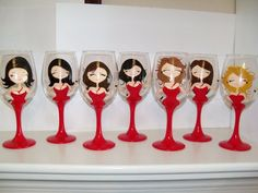 Great idea for girls night out party or bachelorette party!