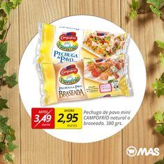 Apúntate una cena ligera: pechuga de pavo Campofrío con tostadas y aceite de oliva! En #oferta hasta finales de septiembre