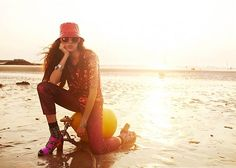 Bernadett Vidacs Hits the Beach for Soup Magazine - 44FashionStreet.com