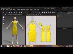 Thiết kế Váy dự tiệc trên phần mềm thời trang 3D tại Thời Trang Thuỷ - YouTube