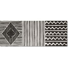Kolekcja Idea - płytki ścienne Idea Ethnic Black 25x66,6