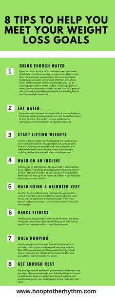 8 weight loss tips-hula hooping, walking on an incline, drinking more water, dance fitness and more. Start your weight loss journey right. These tips may help. Read the full article at hooptotherhythm.c… Source by ericaofhooptotherhythm Quick Weight Loss Tips, Weight Loss Help, Trying To Lose Weight, Losing Weight Tips, Weight Loss For Women, Weight Loss Goals, Weight Loss Program, How To Lose Weight Fast, Weight Gain