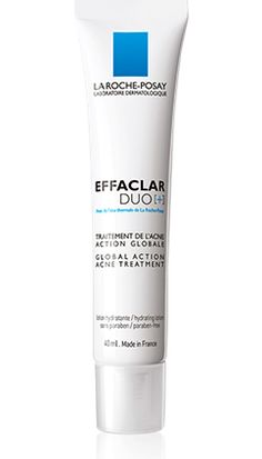 EFFACLAR DUO[+] Global action acne treatment packshot from Effaclar, by La Roche-Posay