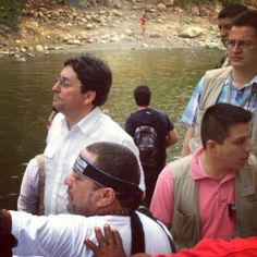Estamos con la comunidad en el río Guatapurí #Valledupar #RetomemosElRumbo