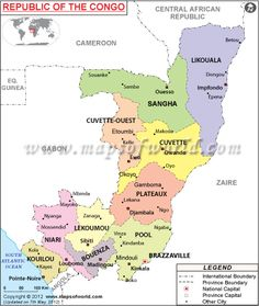 Maps togo cultural anthropology research political map of republic of congo map gumiabroncs Choice Image