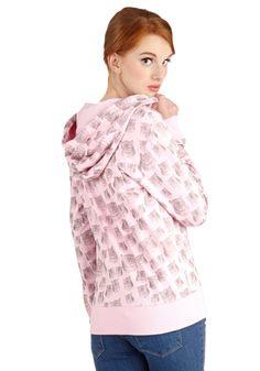 cute kitty sweatshirt!