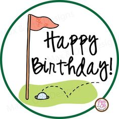 Printable Stickers Max Amp Otis Designs Short Happy Birthday Wishes Golf