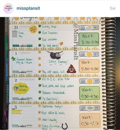 Planner Layout Inspiration