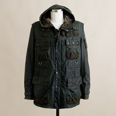 Barbour® x To Ki To military jacket