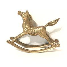 $23.50  Vintage Brass Rocking Horse Mid Century Brass Home Decor Horse Decor Brass Horse Solid Brass Horse Figurine by LastTangoVintage on Etsy