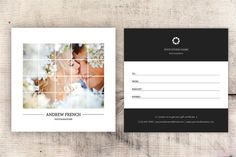 Photography Gift Certificate Template 5x5 Gift by TemplateStock