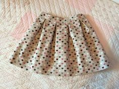 Falda de tablas. Pleated skirt - YouTube