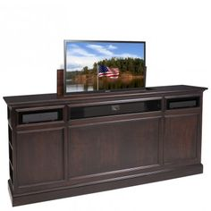 suite espresso tv lift cabinet from