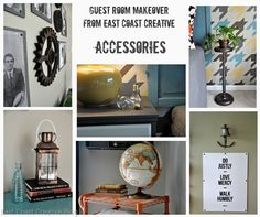 Awesome Accessories From East Coast Creative's Guest Room Makeover!
