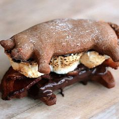 bacon smores more smores bacon sweet treats bacon bacon bacon recipes ...