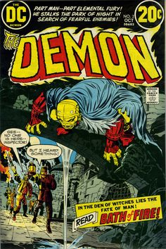 The Demon #2 (1972) by Jack Kirby