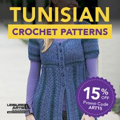 20 Free Patterns for Tunisian Crochet • Oombawka Design Crochet