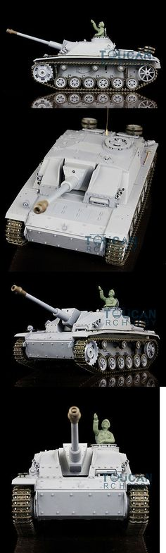 Tanks and Military Vehicles 45986: 2.4Ghz Henglong 1 16 Scale German Stug Iii Rtr Rc Tank Model Plastic Ver 3868 -> BUY IT NOW ONLY: $175 on eBay!