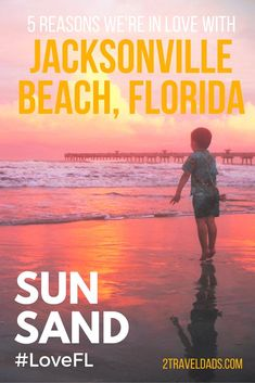 Jacksonville Beach, Florida is a great family getaway with warm water, beautifully clean sands and a wonderful vibe...and surfers. ♠ re-pinned by http://www.waterfront-properties.com/
