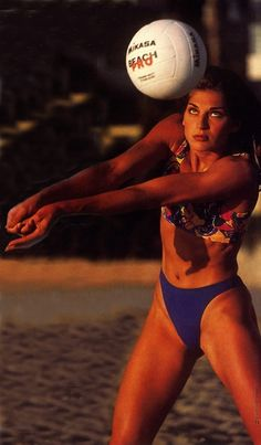 Gabrielle Reece, one of the most iconic faces of volleyball history
