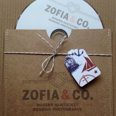 Our new DVD packaging at Zofia & Co.