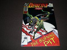 Batman comics DC Detective Comics 589 DC Comics 1988 by HeroesRealm on Etsy $5.99 @https://www.etsy.com/shop/HeroesRealm