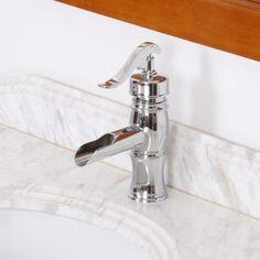Elite Vintage Single Handle Bathroom Water Pump Faucet & Reviews | Wayfair