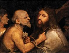 Christ Carrying the Cross - Titian