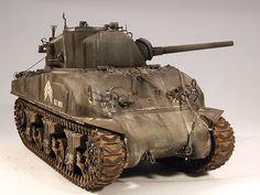 "I am modelist » M4 Sherman ""Composite Hull"" PTO"