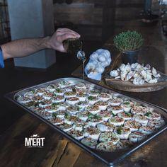 Flavored garlic #meatrestaurant #beatgroup #steakhouse #steaks #meat #meatbybeat #baku #azerbaijan #restaurants #food #cuisine #studiobelenko #belenko #design #beef #veal #sidedish #garlic